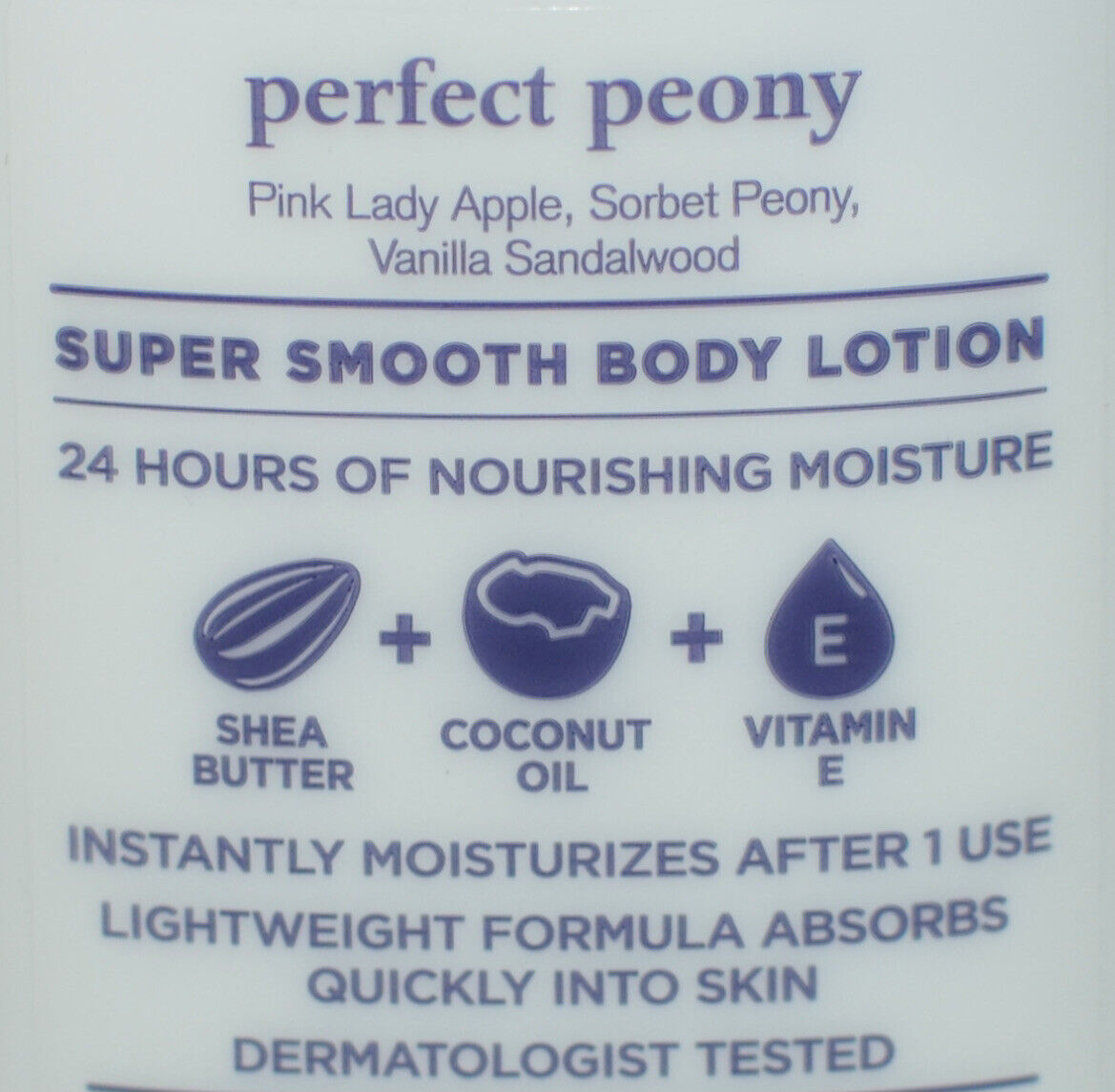 1 NEW BATH BODY WORKS PERFECT PEONY BODY LOTION CREAM HAND SHEA BUTTER 8OZ - $9.99