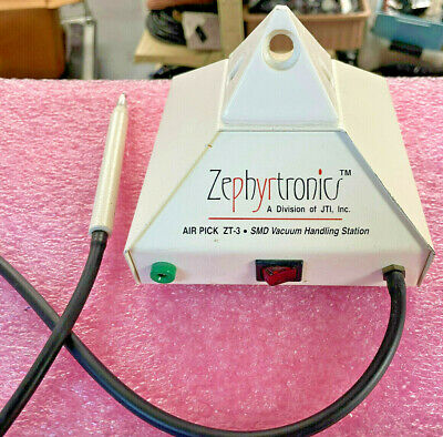 Smd Vacuum Handling Pickup Station Zephyrtronics Zt-3 Air Pick - Tested