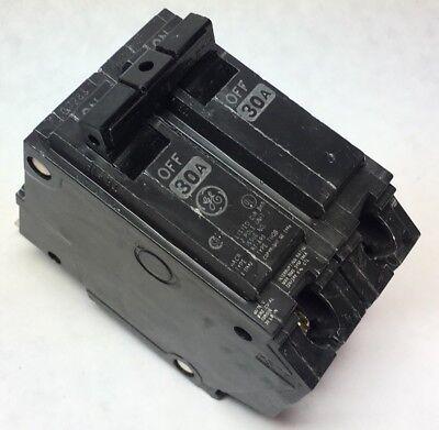 Ge Thqb2130 Circuit Breaker 30 Amp 120240 Vac 2 Pole Bolt On W Screws