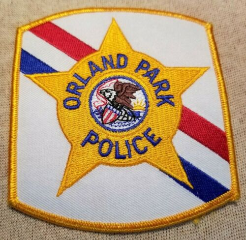 IL Orland Park Illinois Police Patch