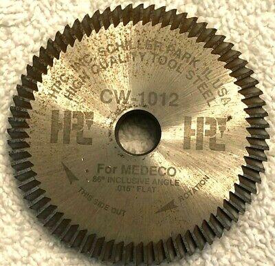 Locksmith Hpc 1200 Key Code Machine Cutter Cw-1012 Cutter - Medeco - Usa
