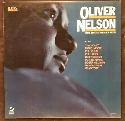 OLIVER NELSON More Blues And The Abstract Truth