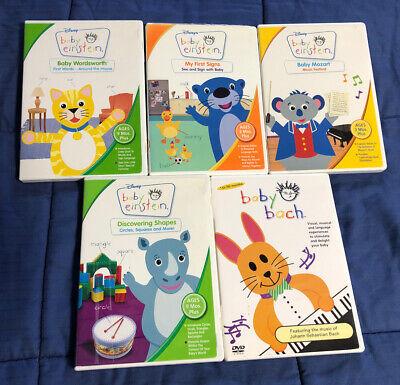 5 Baby Einstein / Baby Bach DVD's