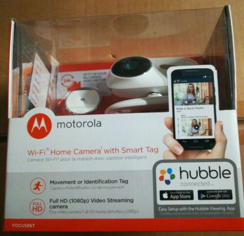 Motorola FOCUS86T Wi-Fi HD Home Video Camera w/ Digital Zoom