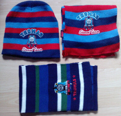 Thomas the tank engine hat and scarf set