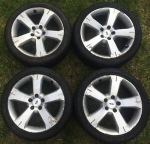 4x Ford Falcon Fairmont BA XR6 XR8 XR6T alloy rims wheels 18inch Epping Whittlesea Area Preview