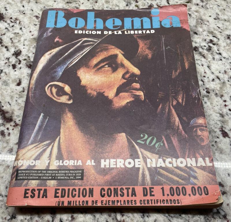 "RARE 1959 ""BOHEMIA Edición De La LIBERTAD"" Castro"