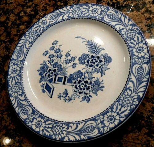 Wood WINCANTON Blue Transferware Plate Enoch & Ralph Wood Staffordshire