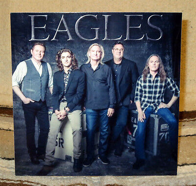 """Eagles Rock Group Tabletop Standee 8"""" X 8""""  or 8"""" X 10"""""""