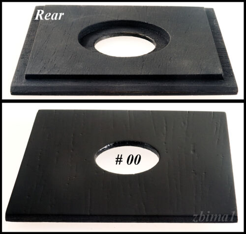 """1 LENS BOARD """"A""""3-1/4"""" x 3-1/4"""" for GRAFLEX  RB Speed, or Early 3-1/4"""" x 5-1/2"""""""