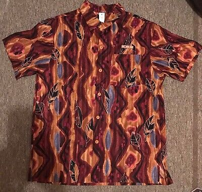 Disney Authentic Cast Member Polynesian Resort Costume Shirt Medium M
