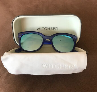 Blue mirrored Witchery sunglasses
