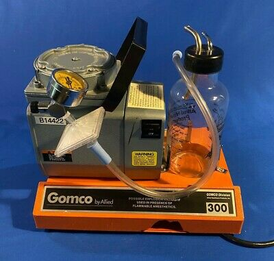 Allied Healthcare Gomco 300 Table Top Suction Pump