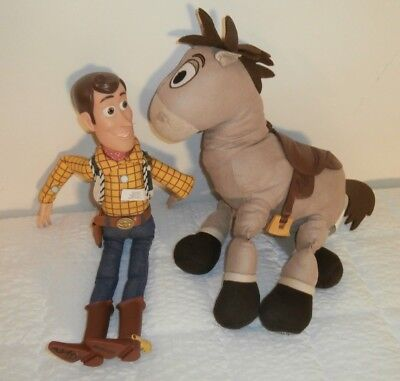 sh doll lot Toy Story Toys Disney Store (Bullseye Doll)