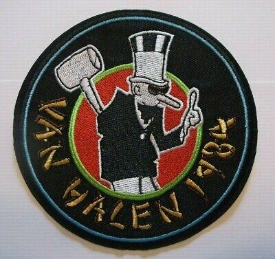 Van Halen 1984 Album Rock & Roll~Embroidered Patch~4 1/2