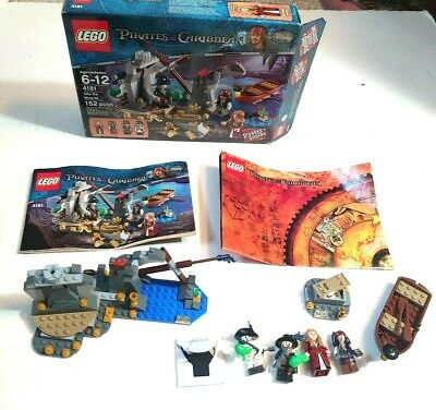 Lego 4181 Pirates Of The Caribbean Isla De la Muerta (100% Complete Box Manual)