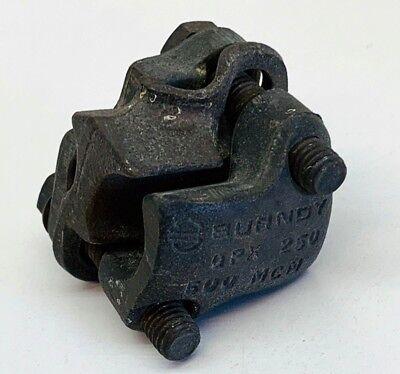 Burndy Qpx3428 Copper Split Bolt Parallel Clamp Connector 250-500mcm 40