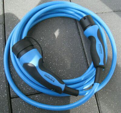 Mennekes Ladekabel Typ 2 Mode 3 32A 7,5 Meter neu 36247 unbenutzt 22KW
