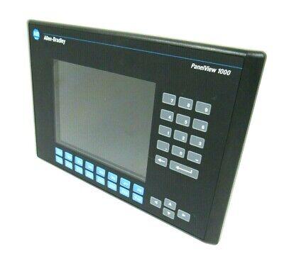 Used Allen Bradley 2711-k10c20x Panelview 1000 Ser E Rev E Frn 4.46 2711k10c20x