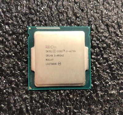Intel Core i5-4670K Haswell Quad-Core 3.4 GHz LGA 1150 84W Desktop Processor CPU