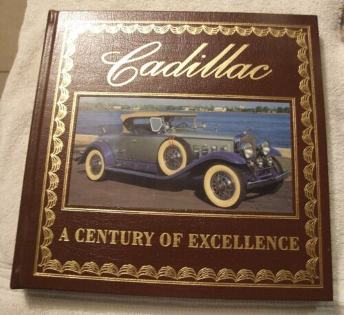 Cadillac- A Century of Excellence- Leather Bound