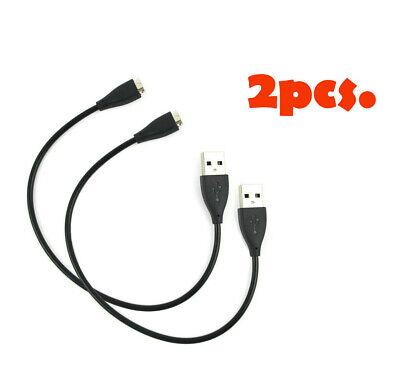 2X Nuevo Carga USB Cargador Cable Cuerda Para Fitbit Charge Hr Reloj...