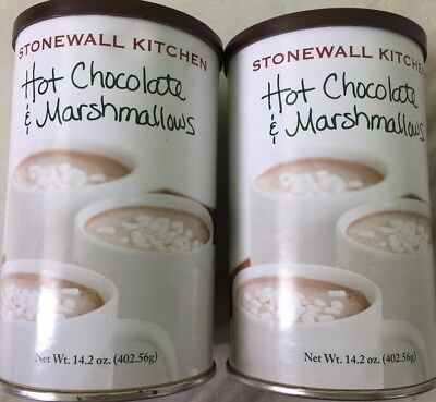 **2 Cans X 14.2oz Stonewall Kitchen cocoa Hot Chocolate Marshmallow Coffee drink ()