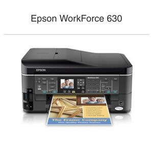 Epson WorkForce 630 Wireless All-in-one Color ink printer