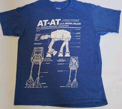 Men/'s Grey Marl We Have A Problem AT-AT Star Wars T-Shirt from Chunk