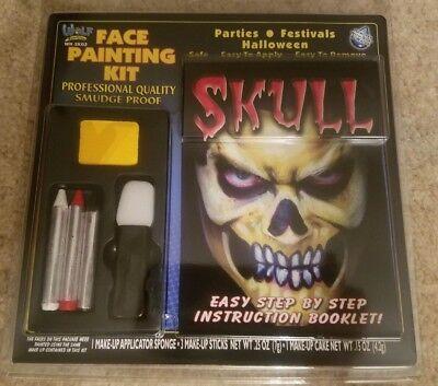 Wolf Novelties Face Painting Kit Devil Skull Vampire - Face Painting Devil Halloween
