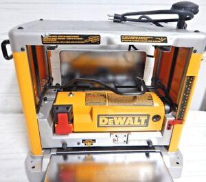DEWALT 15 Amp 12-1/2 in. Corded Planer DW734