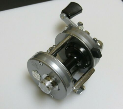 Extremely Rare Abu Garcia Ambassadeur 2500CI Silver Casting Reel Made in Sweden