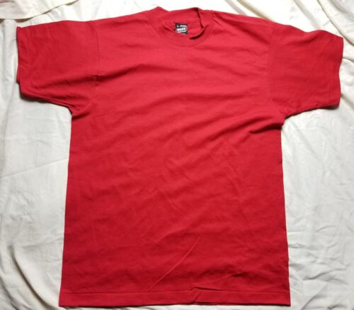 Vintage Fruit Of The Loom Best T-Shirt Blank Size xl Made in