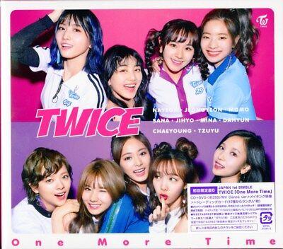 TWICE-ONE MORE TIME (TYPE-B)-JAPAN CD+DVD Ltd/Ed D50