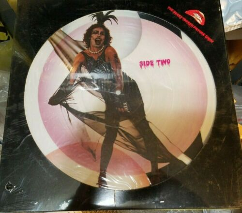 ROCKY HORROR PICTURE SHOW 1975 SOUNDTRACK DISC RECORD & SONG BOOK SET -NICE!