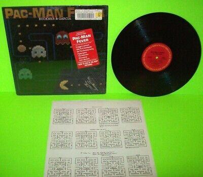 Pac-Man Fever 1982 Vinyl LP Record Album Do The Donkey Kong Berzerk Hype Sticker
