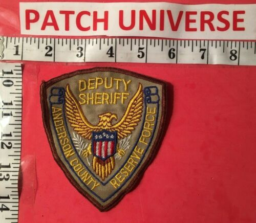 ANDERSON COUNTY TENN  SHERIFF RESERVE  SHOULDER PATCH  LO32