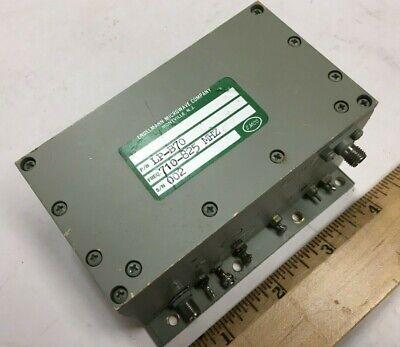 Engelmann Microwave Lp-b70 Rf Oscillator Source 710 - 825 Mhz Phase Locked Sma