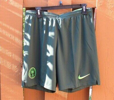 New Nike Nigeria Stadium Away Soccer Shorts (940448-397) Size Large ()