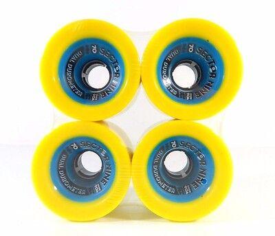 Sector 9 Dual Durometer 70mm 78a Urethane 90a Core Longboard Wheels comprar usado  Enviando para Brazil