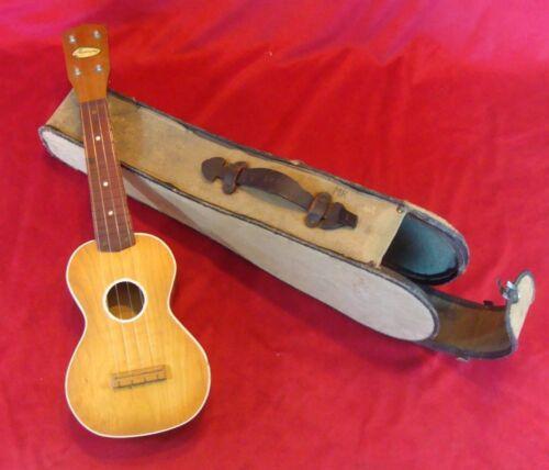 Vintage 1950s Harmony Ukulele (Made In Chicago) original case