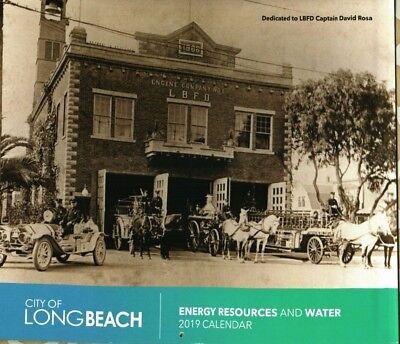 CALENDAR 2019 City of Long Beach Ca. Energy & Water dept Calendar