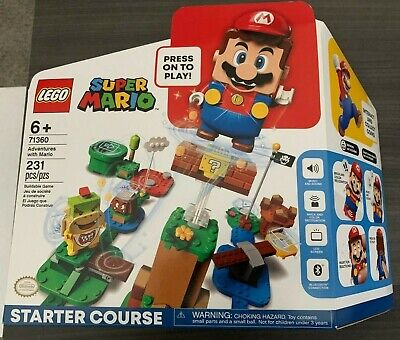 Lego Super Mario Starter Course Adventures with Mario 71360 Brand New