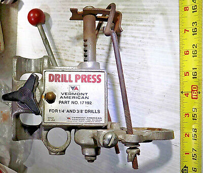 Vintage Vermont American Drill Press 17192 Attachment For 14 38 Hand Drill