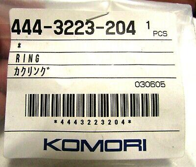 Genuine Oem Komori O Ring 444-3223-204 Printing Press Part 030605 New Printer