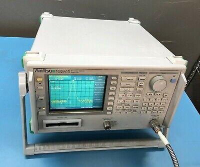 Anritsu Ms2661n Spectrum Analyzer 100 Hz - 3 Ghz With Tracking Generator Option