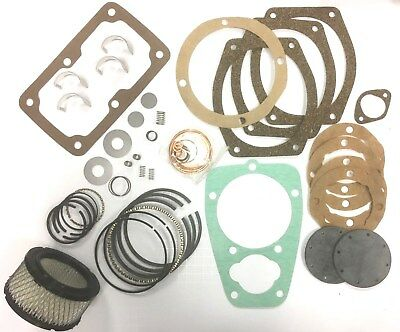 Curtis Model C96-3 C-96 Tune Up Rebuild Kit Parts Masterline Air Compressor