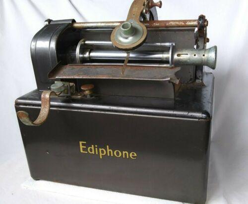 Edison Ediphone with EKonowatt Motor and Extras