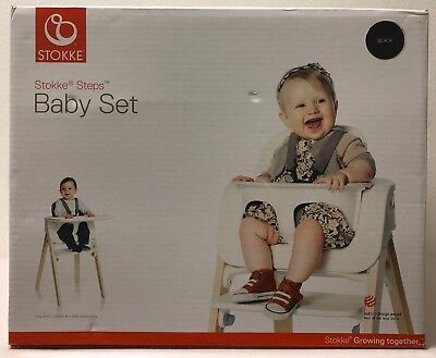 Stokke 5-Point Harness Adjustable Baby Set For Steps HIgh Chair - WHITE or BLACK