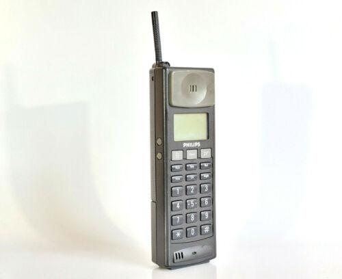 PHILIPS PRW 7540 - MOBILE PHONE BRICK CELL VINTAGE RETRO RARE COLLECTABLE